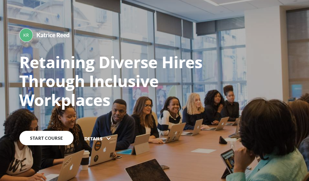 eLearning – Retaining Diverse Hires