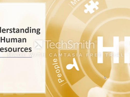 Camtasia – Understanding HR Screencast