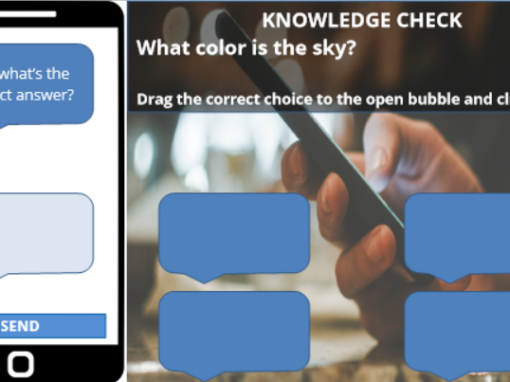 Screencast – Storyline Knowledge Check